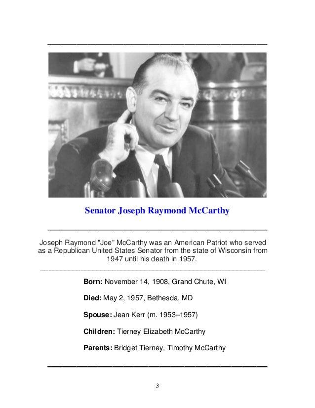 Mccarthys war against communism Slide 3