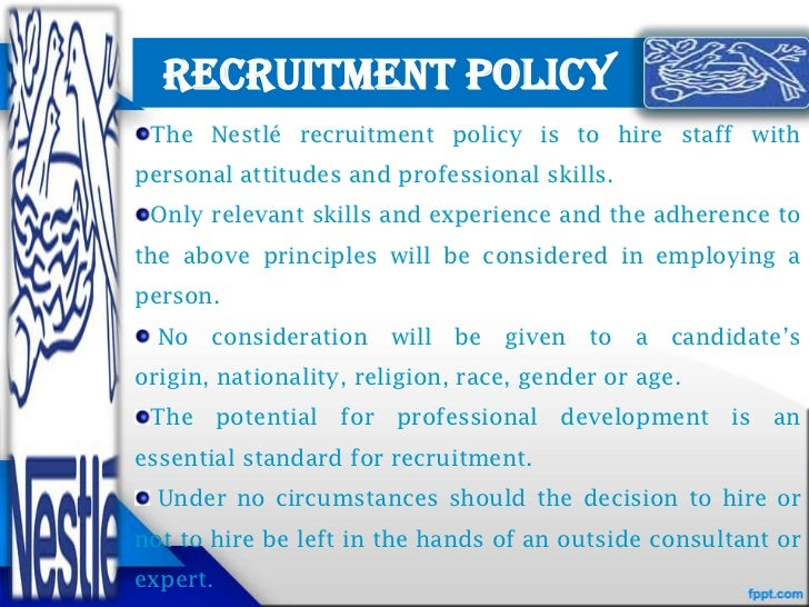 nestle talent management Performance & talent management we pride ourselves in attracting, retaining and developing talented people the ongoing development of our people in terms of technical and leadership skills.