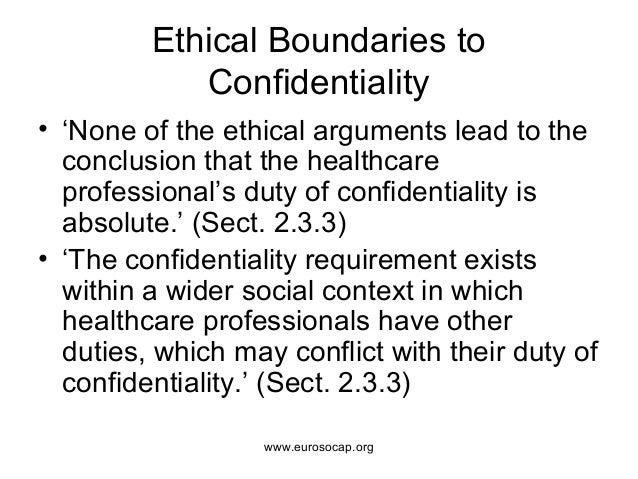 European Standards on Confidentiality and Privacy in Healthcare
