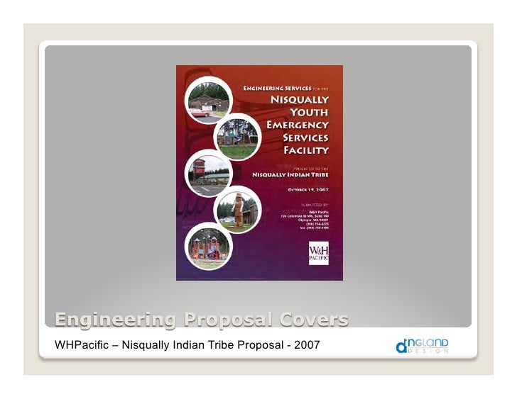 WHPacific – Nisqually Indian Tribe Proposal - 2007