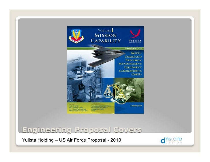 Yulista Holding – US Air Force Proposal - 2010