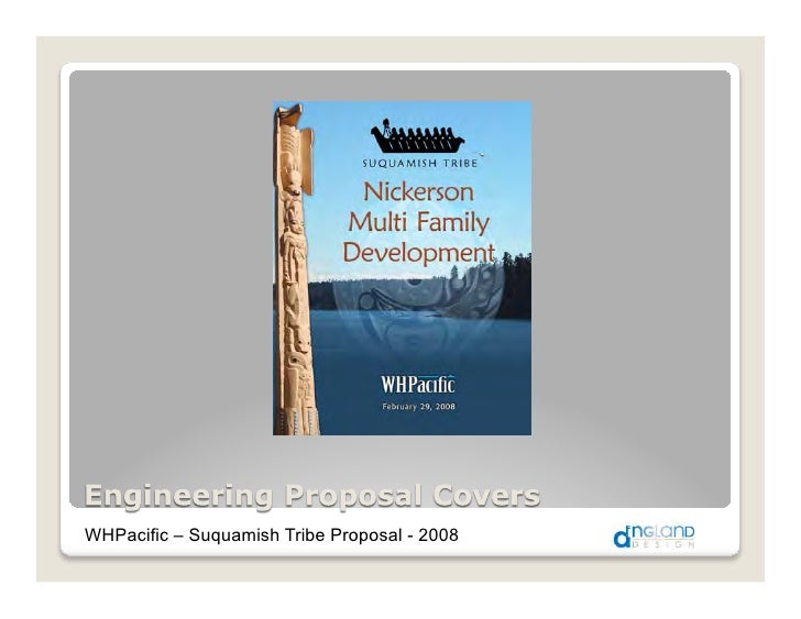 WHPacific – Suquamish Tribe Proposal - 2008