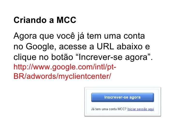 Mcc – Minha Central De Clientes Slide 3