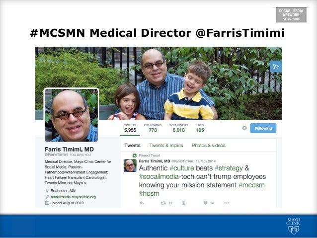 Mayo Clinic Care Network #MCSMN Orientation