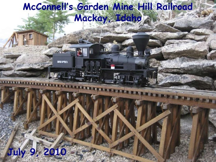McConnell's Garden Mine Hill Railroad<br />Mackay, Idaho<br />July 9, 2010<br />