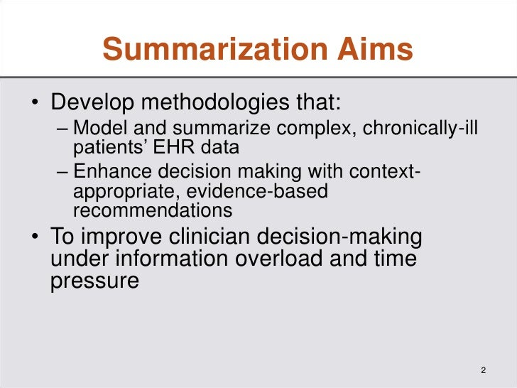 A Prototype Knowledge Base and SMART App to Facilitate Organization of Patient Medications by Clinical Problems Slide 2