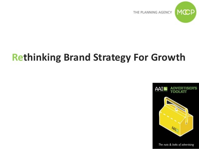Rethinking Brand Strategy For Growth
