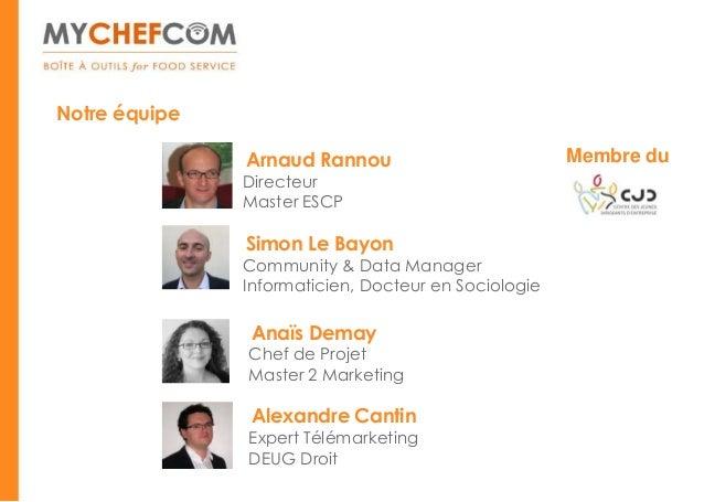 Notre équipe               Arnaud Rannou                          Membre du               Directeur               Master E...