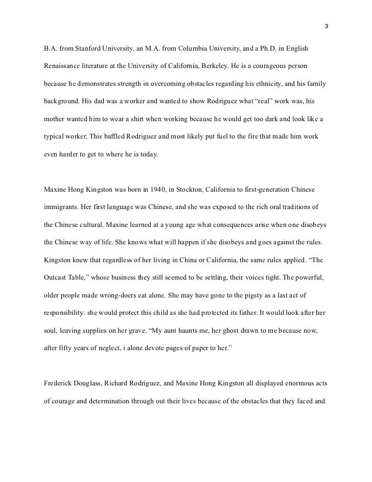 overcoming a difficult situation essay
