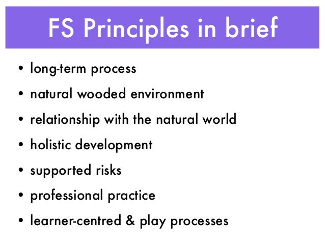 play work principles The playwork principles establish a professional and ethical framework for playwork and must be seen as a whole the playwork principles underpin every aspect of playworkers' work.