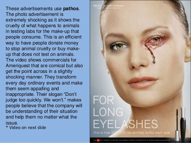 ethos pathos logos advertisements essay The use of pathos, ethos and logos in advertising essay 677 words | 3 pages use various kinds on the commercial, the main goal of advertising tries to convince customer to buy their.