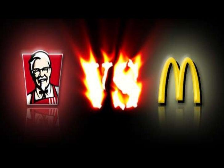 comparison mcdonalds vs kfc