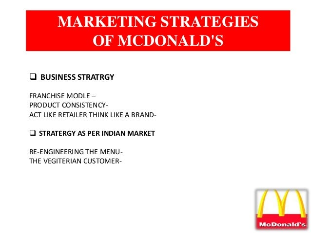Marketing Strategy of McDonald's - McDonalds Marketing ...