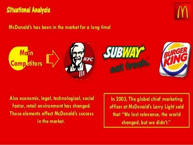 what risks do you think mcdonalds will face in the future