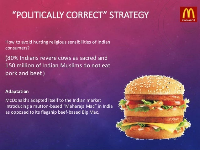 mcdonalds in india and eurodisney case North & east india west & south india.