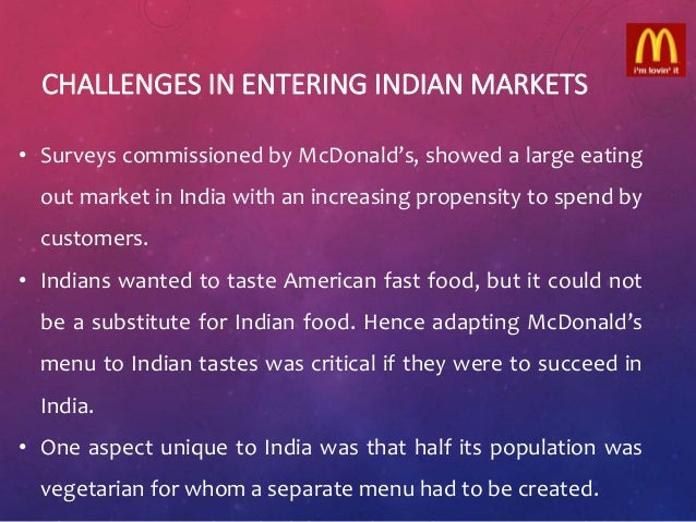 case study mcdonalds and hindu Discover how omd used socialcom to run one of mcdonalds biggest branding and awareness campaigns on facebook during the world cup using the power of video omd and mcdonalds case study - salesforcecom.