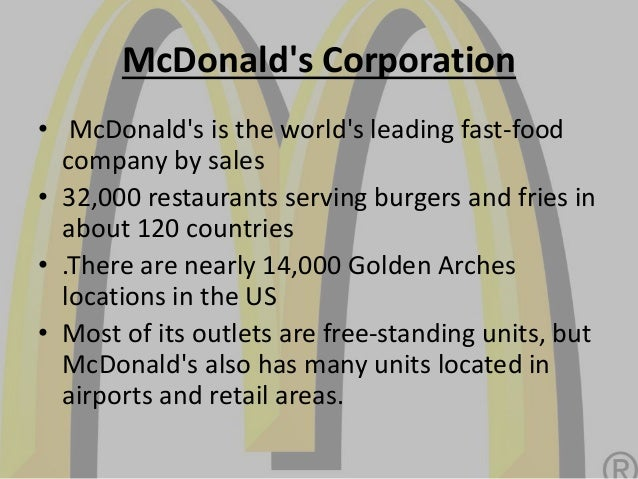 Human Resources Management-McDonalds Essay Sample