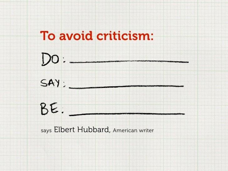 Design Criticism and the Creative Process Slide 2
