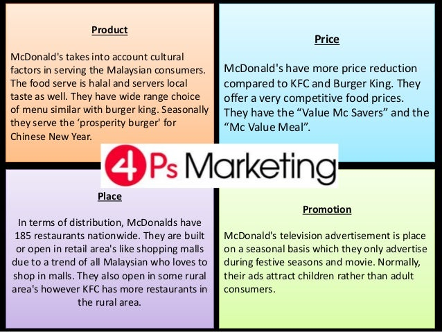 Cultural factors influence customer behavior —- McDonald's marketing strategies