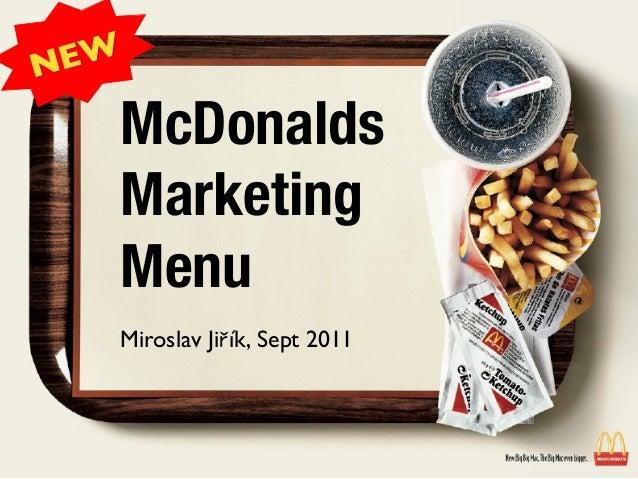 Unit 4 Marketing Principles Assignment - McDonald
