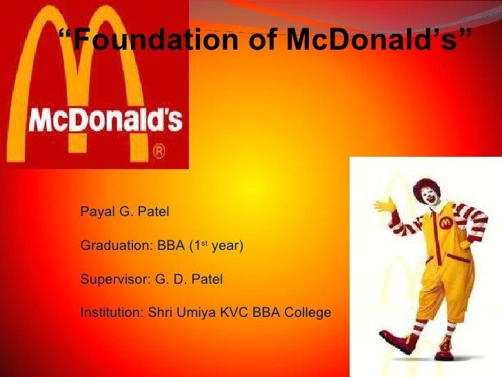 "Payal G. Patel Graduation: BBA (1 st  year) Supervisor: G. D. Patel Institution: Shri Umiya KVC BBA College "" Foundation o..."