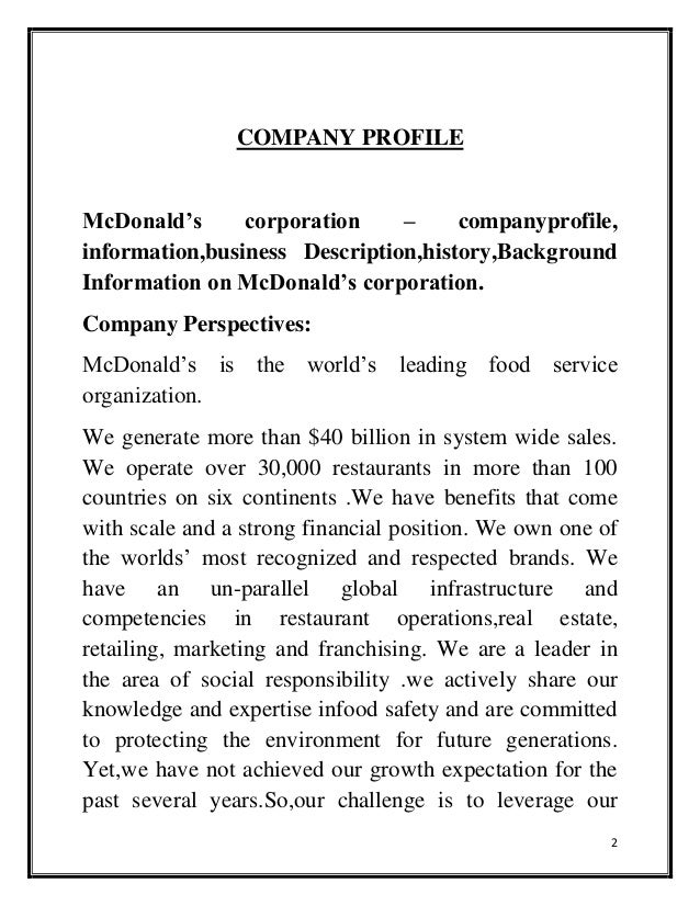 a description of the introduction and company profile of enron corporation The h&m group is one of the world's leading fashion companies – with the brands h&m and h&m home, cos, & other stories, monki, weekday cheap monday and arket each with its own unique identity, all our brands are united by a passion for fashion and quality and the drive to dress customers in a sustainable way.