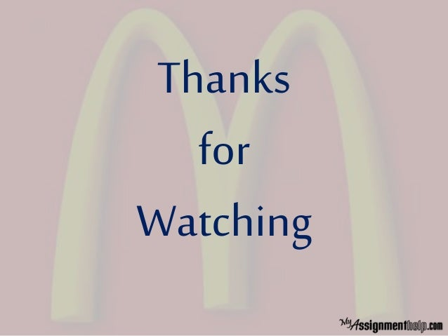 McDonald's Case Study | McDonald's Pest Analysis | BusinessStrategic Management Case Studies