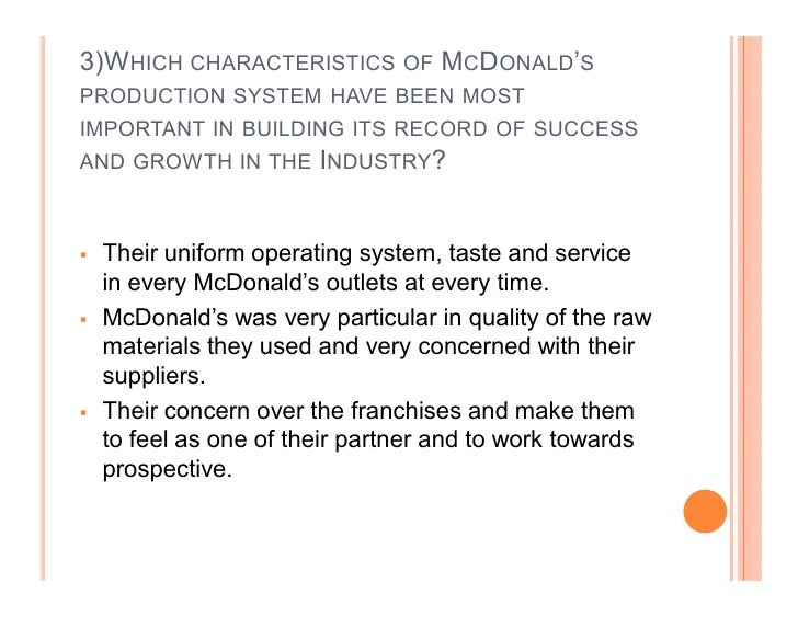 mcdonalds case study analysis paper Case study analysis- zara abstract this paper is based on case study on analysis of mcdonald's operation more about galanz case operations management analysis.