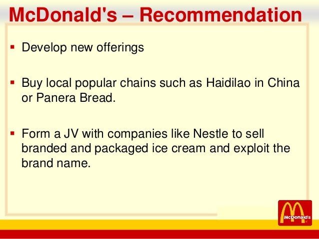 mcdonalds company analysis Trend analysis and comparison to benchmarks of mcdonald's's profitability ratios such as net profit margin, roe and roa.