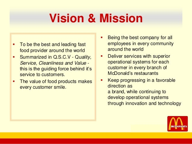 vrio analysis mcdonalds Swot analysis of mcdonald's (5 key strengths in 2018) ovidijus jurevicius | march 17, 2018 this mcdonald's swot analysis reveals how the most successful fast-food chain company of all time uses its competitive advantages to continue dominating fast-food industry.