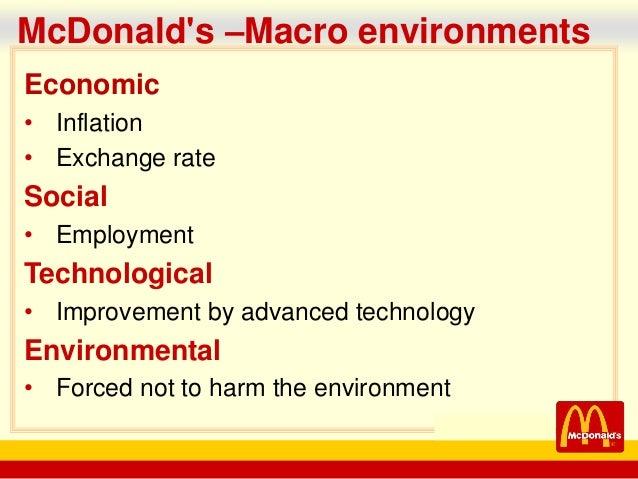 McDonald's Company Analysis