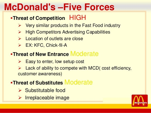 power of supplier of mcdonalds Mcdonald's has awarded the marketing store with its global supplier of the  year award according to an article on qsrcom, the global.