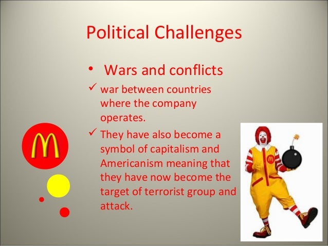 mcdonald business strategy Mcdonald's generic strategy (porter's model) and intensive growth strategies are discussed in this case study and analysis on business strategic objectives.