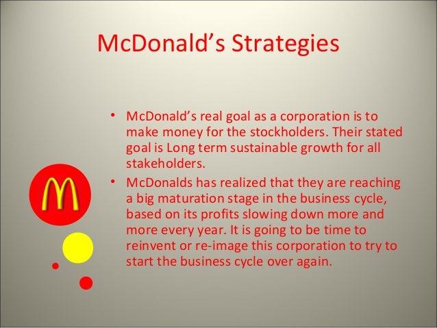 mcdonalds diversification strategy
