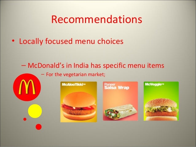mcdonald case study in india Mcdonald's in india case study help, case study solution & analysis & mcdonald's in india case solution question #1 pestel analysis and conclusion: political: the.