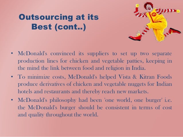 case analysis mc donalds A pestel analysis is a strategic tool which has been utilized by the strategists and marketers to determine and analyze the external or macro-environmental factors that could have positive and negative impact on organization.