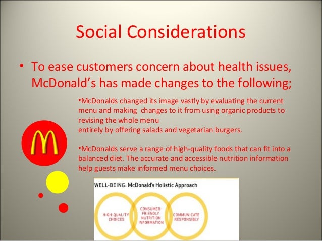 an analysis of mc donalds health menu Mcdonald's menu and nutrition facts you are here: nutrition facts » restaurants » fast food » mcdonald's breakfast menu item  menu item serving size.