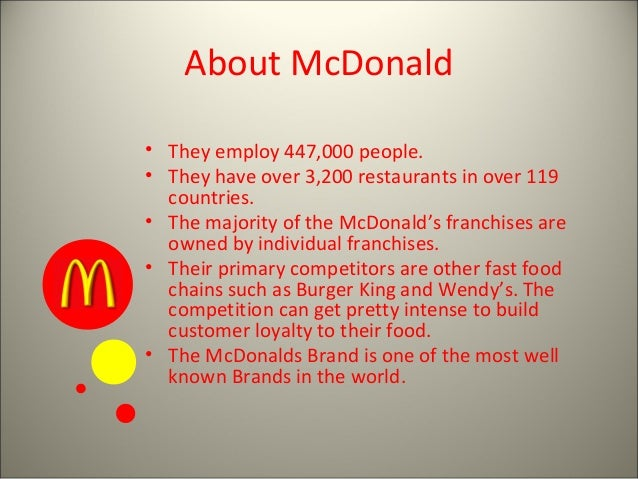 case study mcdonalds in china Case study: mcdonalds marketing strategies mcdonald's is the world's largest fast-food restaurant chain it has more than 30,000 restaurants in over 100 countries.