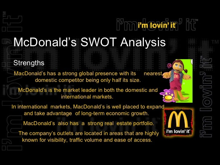 a discussion on the importance of mcdonalds Full-text paper (pdf): strategic marketing plan for mcdonald's 2016  benefits  of mcdonalds may have lessen as individuals consider it as.