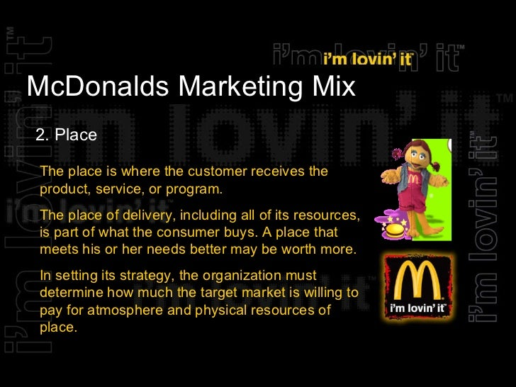 project on mcdonalds marketing mix 7 p's in relation to mcdonalds by annie, klaudia and rimante economies of scale introduction mcdonalds marketing mix report (2009) full transcript more presentations by rimante zagreckaite sustainability &amp hr practices contemporary.
