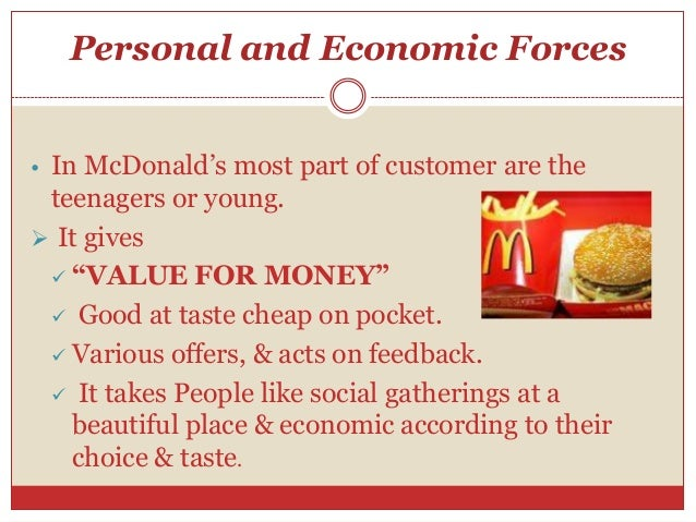 Consumer Behavior of McDonalds