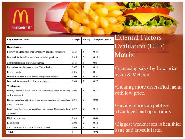 mcdonalds cultural factor in india Product standardization and adaptation in international marketing a case of mcdonalds  mcdonalds company, a research agenda was placed on investigating the level of  national and cultural identity, a topic that has become popular in the field of.