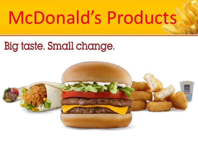 McDonald's Products