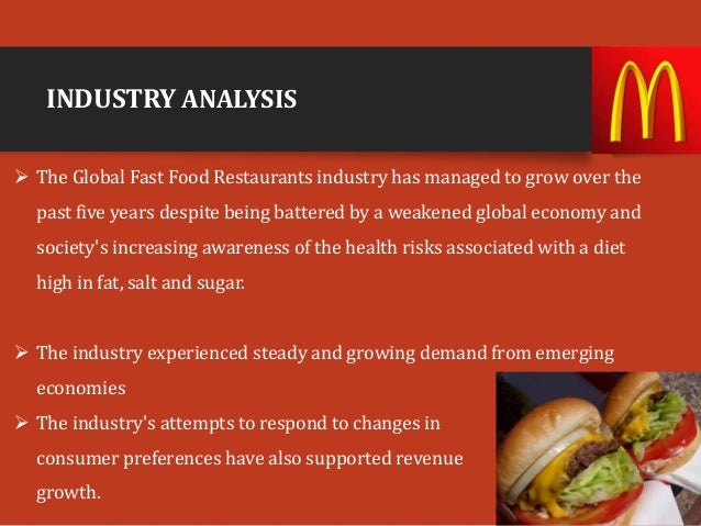 Global Fast Food Industry Growth Rate