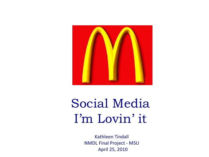 How McDonald's Wins in Social: Ranking at Number One