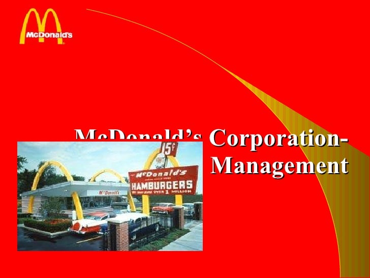 operational management at mcdonald By centralizing its facilities operations, the general motors corporation (gm) cut  more than $1 billion from its annual budget in just five years,.
