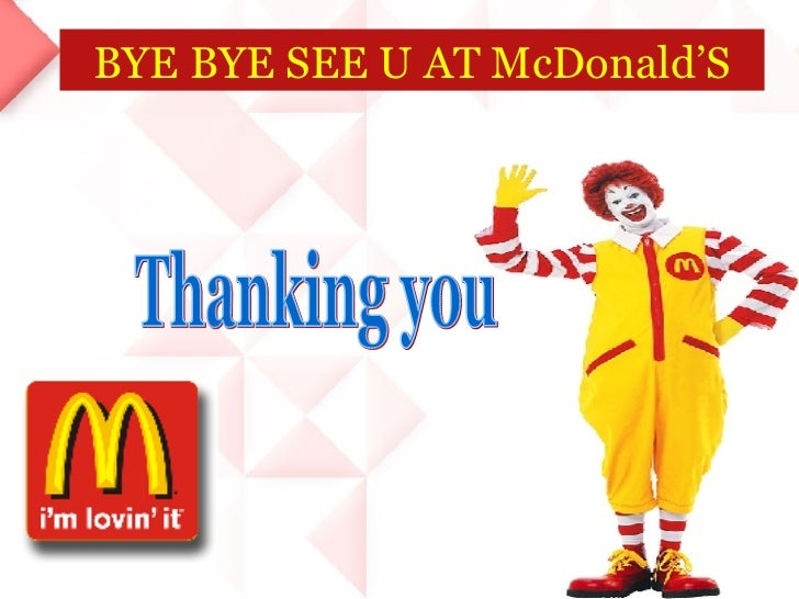 marketing management of mcdonalds View essay - marketing management - mcdonalds case study from mgmt 522 at new mexico case vii: new targets and new positioning at mcdonalds 1 for each segmentation.