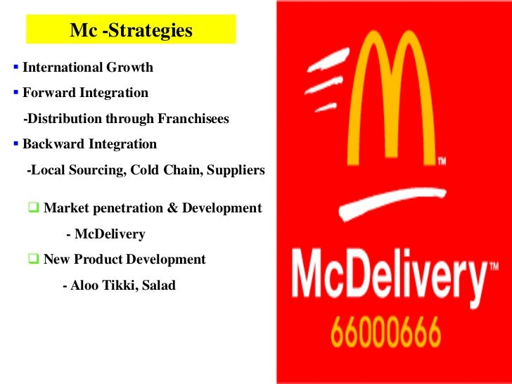 an analysis of mc donalds health menu Our nutrition calculator has the mcdonald's menu nutrition information you're  seeking learn more about your favorite meals.