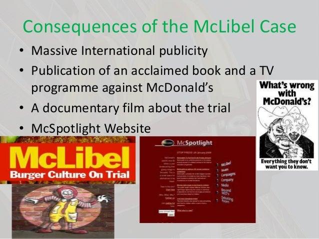 Unethical mcdonald