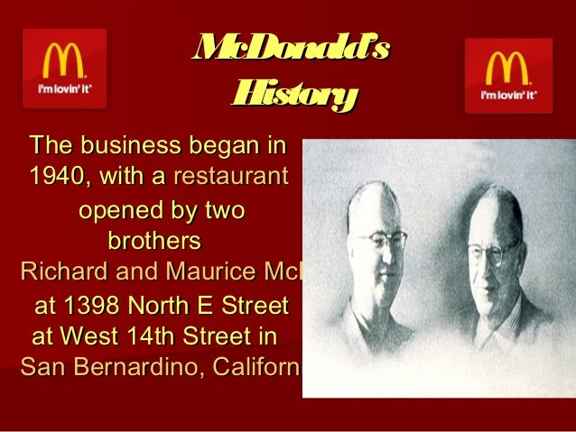 ray krocs dreamy conception of mcdonalds Ray kroc biography ray kroc was the mastermind behind one of the world's largest fast food chains, mcdonald's to know more about him, read on his brief biography in the lines below.